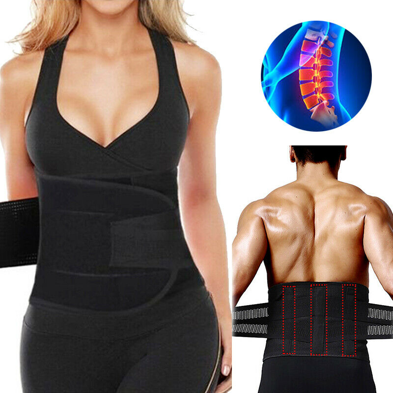 677dffbf25d Details about Unisex Xtreme Power Belt Hot Slimming Thermo Shaper Waist  Trainer Faja Sport SFC