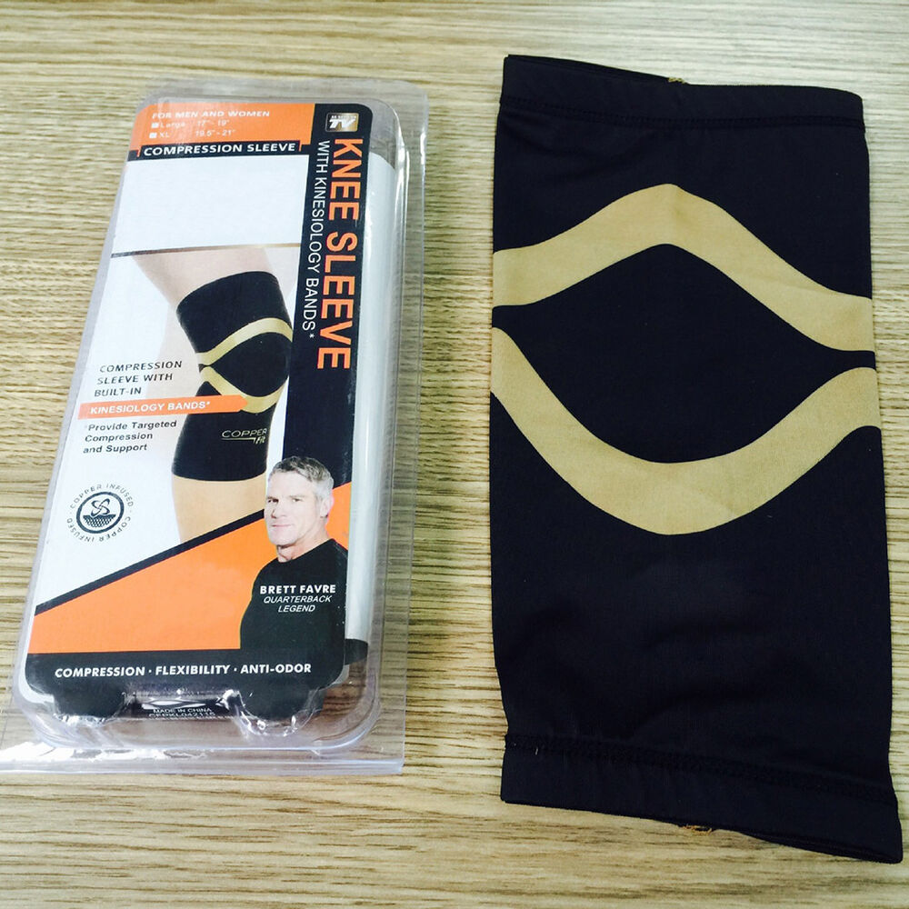 Multi-size Copper Fit elbow Knee Compression Sleeve Brace ...