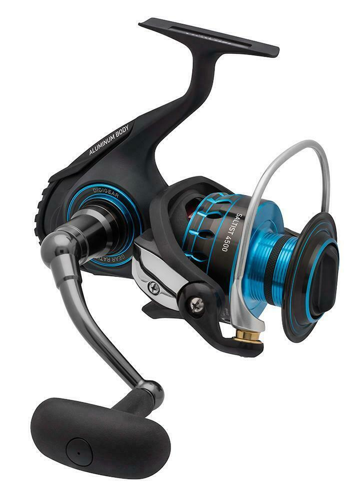 Daiwa saltist 16 3000 spinning fishing reel brand new at for Best fishing reel brands