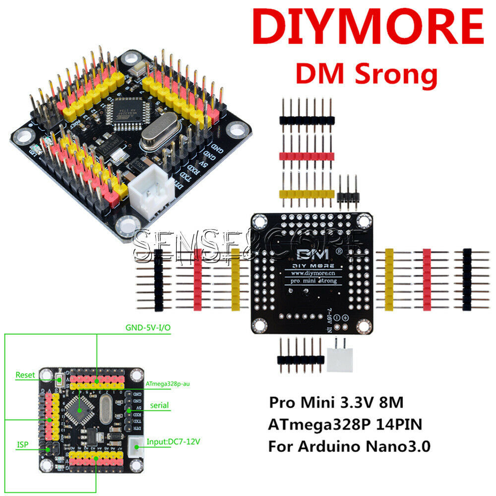 Newest arduino pro mini v m atmega p board