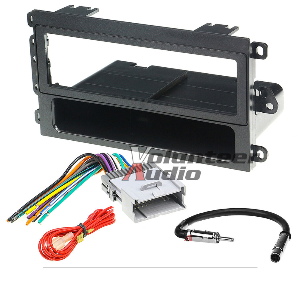 Car Radio Stereo Cd Player Dash Install Mounting Trim
