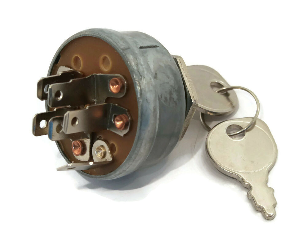 Garden Tractor Ignition Switch : Ignition switch keys replaces for toro