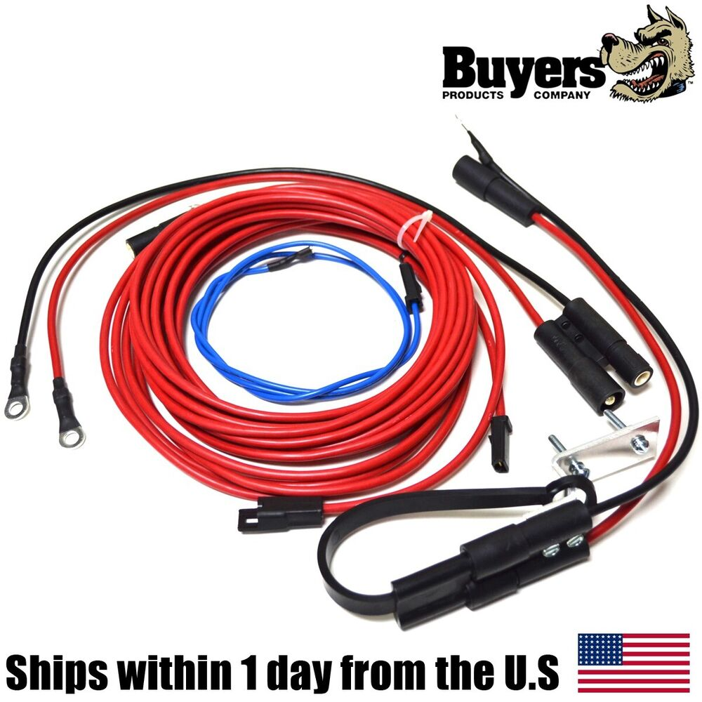 salt spreader wiring harness myers buyers 0206500 ebay. Black Bedroom Furniture Sets. Home Design Ideas