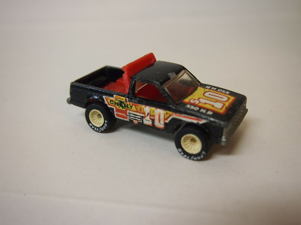 Mattel Hot Wheels 1980s Chevy S10 Pickup Truck Rubber Tires Vhtf Ebay