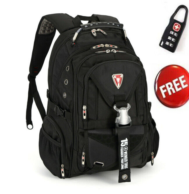 fashion 15 6 swiss gear travel bags macbook laptop hiking backpack student bag ebay
