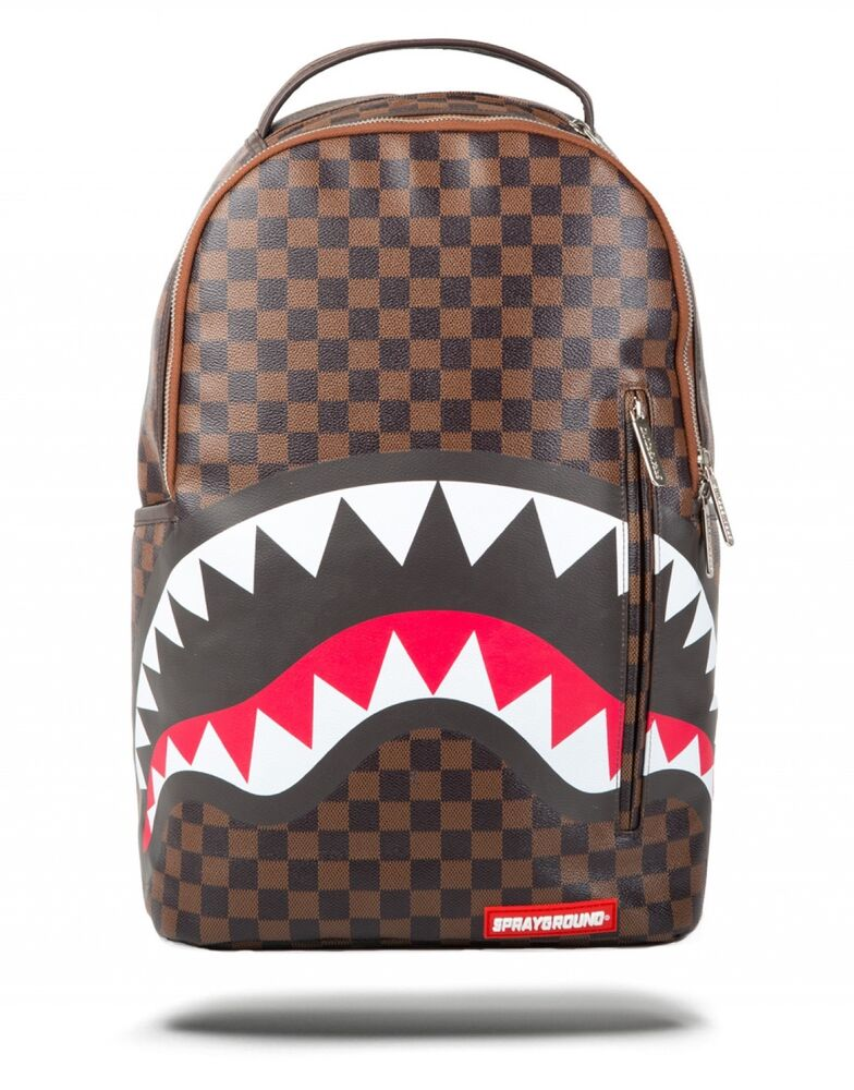 Brand New SPRAYGROUND Sharks in Paris Deluxe Bag Backpack ...