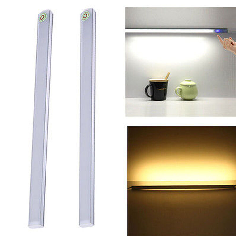 Led Under Counter Lights With Switch: 30CM LED Touch Sensor Switch Light Closet Light Under