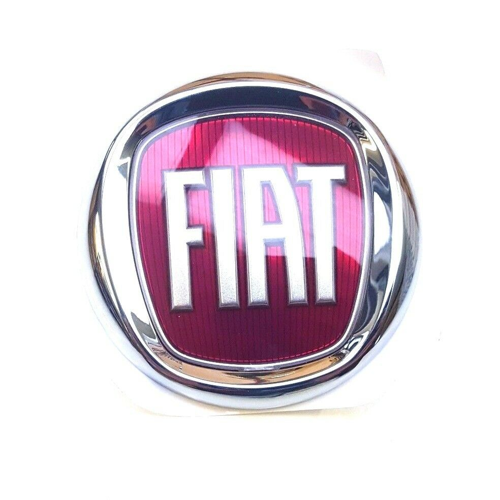 Fiat Ducato 2006 Onwards Front Grille Badge Red Logo
