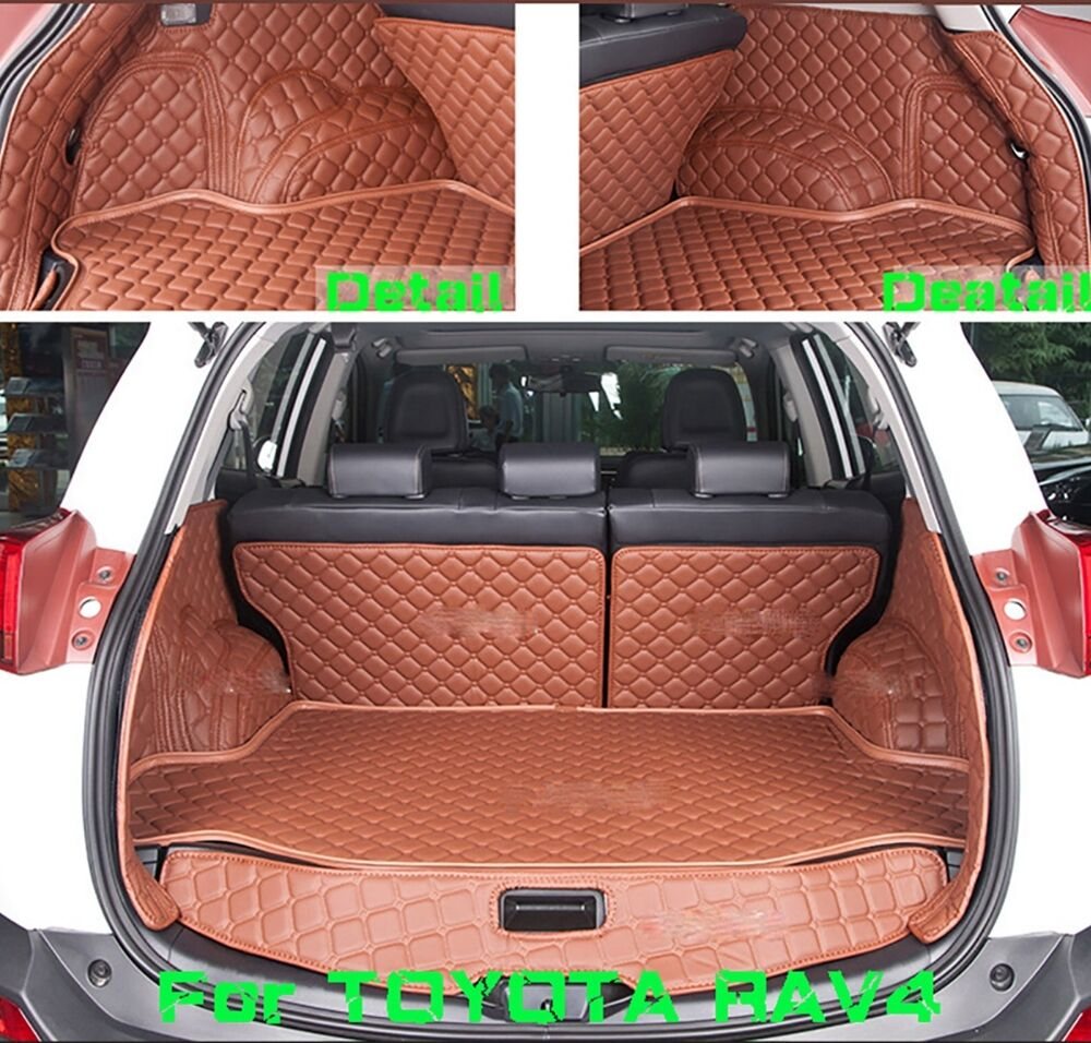 for toyota rav4 2009 2012 trunk boot mats cargo floor. Black Bedroom Furniture Sets. Home Design Ideas