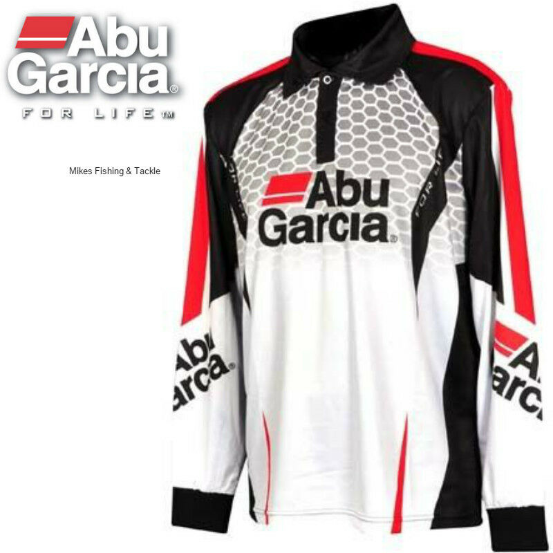 Abu Garcia Mens Pro Tournament Long Sleeve Fishing Shirt