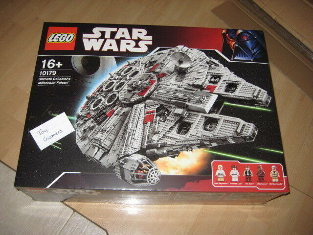 Lego Star Wars 10179 Millennium Falcon Ucs Brand New Sealed No