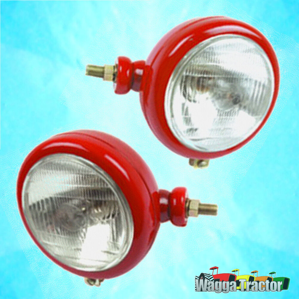 Chinese Tractor Headlight Bulbs : Hlt headlight set massey ferguson mf tractor w