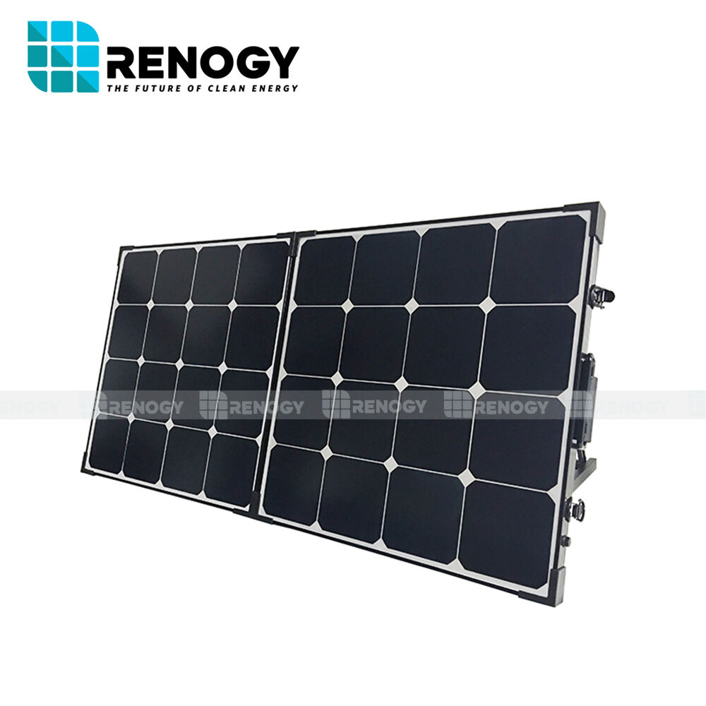 Renogy Eclipse 100w 12v Foldable Solar Panel Suitcase Kit