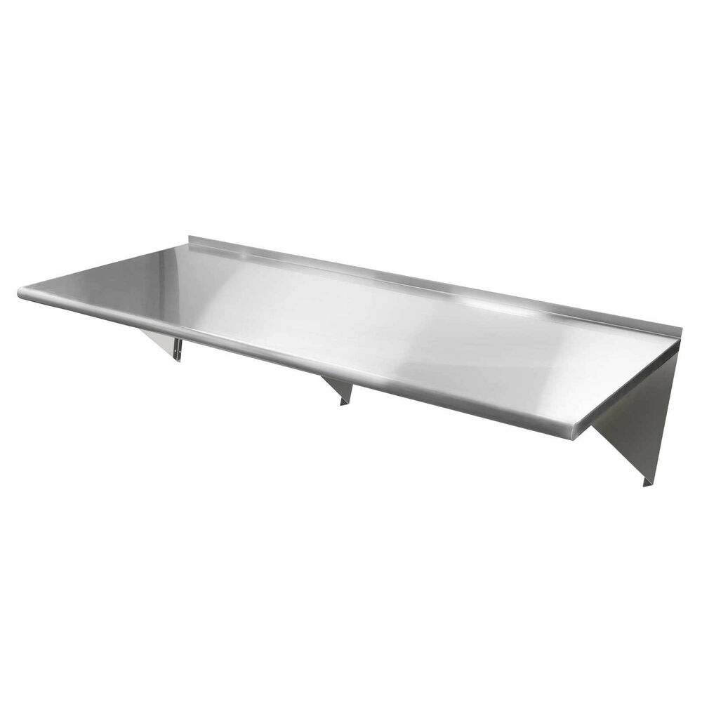 commercial stainless steel restaurant kitchen shelf wall. Black Bedroom Furniture Sets. Home Design Ideas