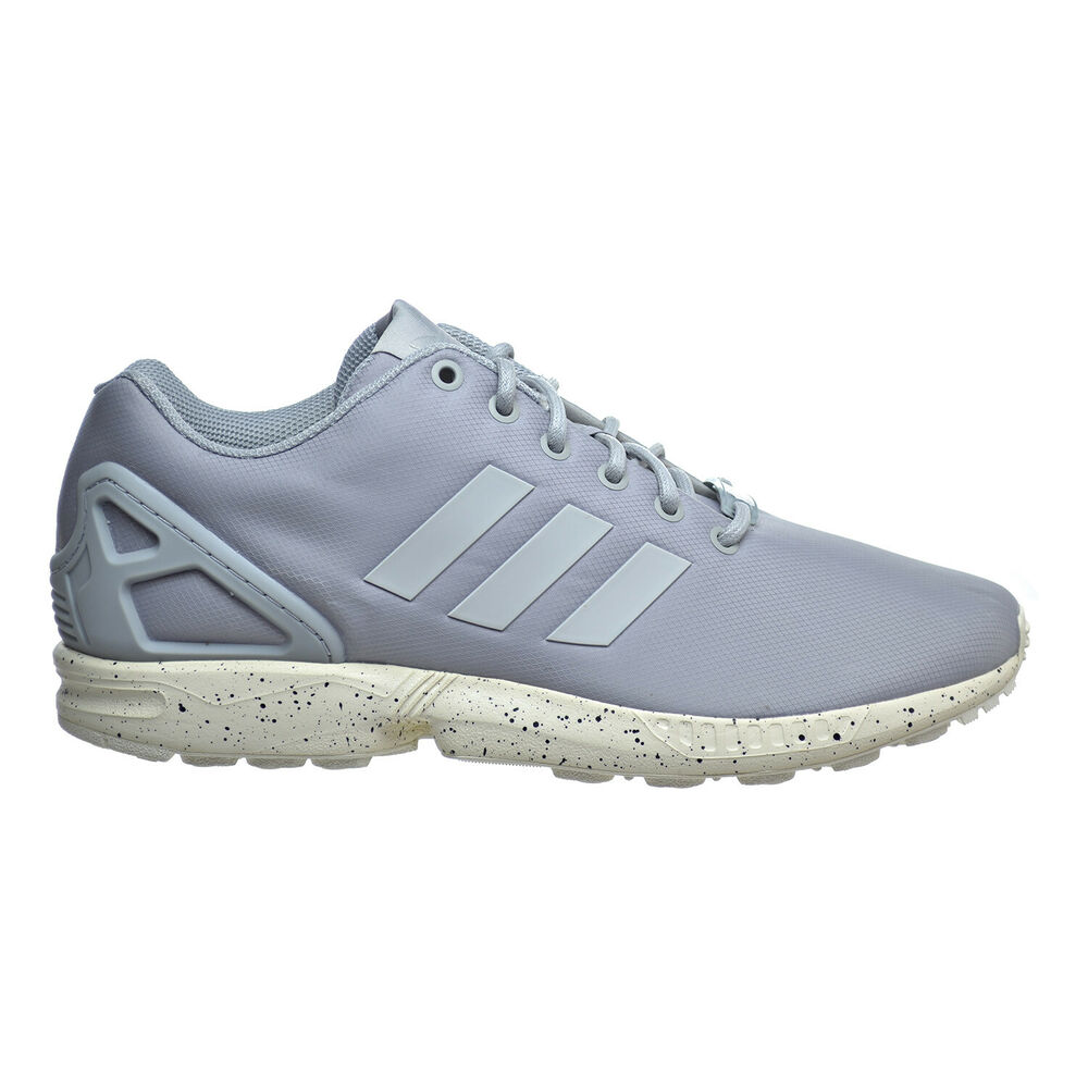 online retailer 62c5e ef306 Details about Adidas ZX Flux Men s Shoes Clear Onix Grey Chalk White s31517