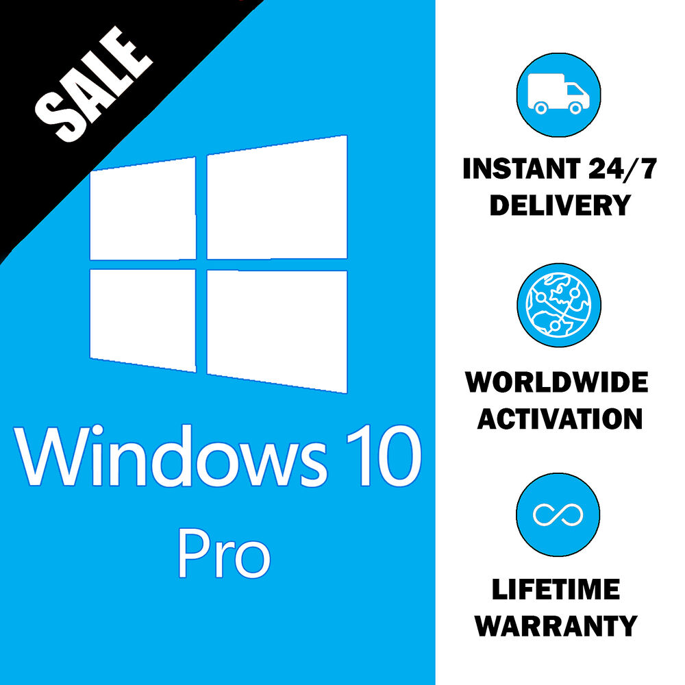windows 10 pro original 32 64bit professional license key activation code ebay. Black Bedroom Furniture Sets. Home Design Ideas