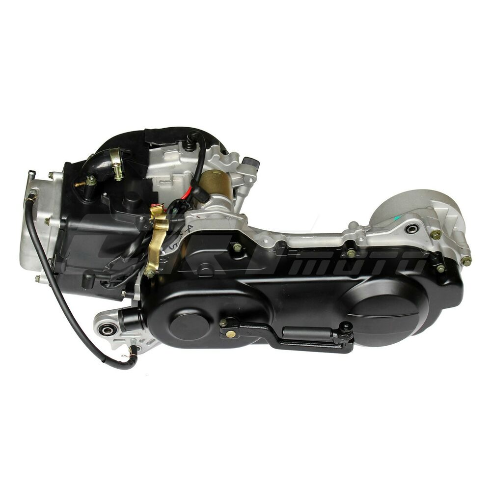 gy6 50cc 4 stroke long case engine motor for gas moped. Black Bedroom Furniture Sets. Home Design Ideas