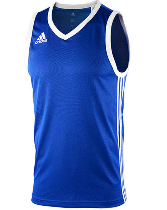 Mens new adidas basketball vest tank top sleeveless t for Men s basketball t shirts