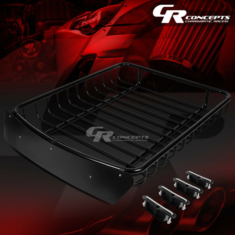 51 Quot X 40 Quot Roof Rack Top Cargo Luggage Carrier Basket Wind