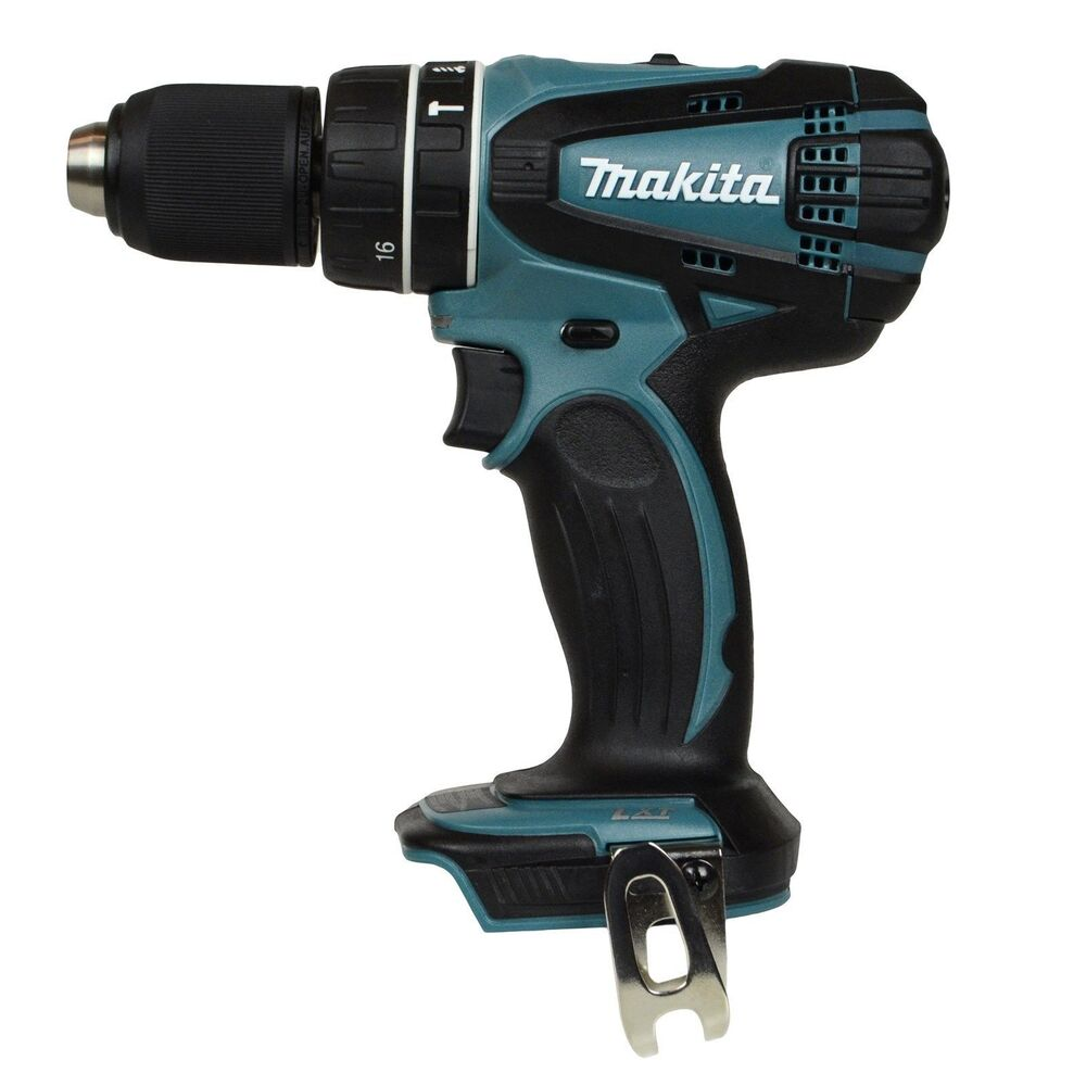 makita xph01z 18v lxt cordless 1 2 hammer drill bare tool. Black Bedroom Furniture Sets. Home Design Ideas