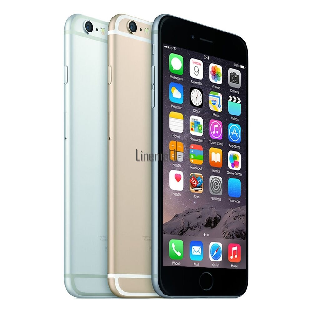 apple iphone 6 iphone 5s iphone 4s 8 16 32 64gb unlocked silver gold gray lm ebay. Black Bedroom Furniture Sets. Home Design Ideas