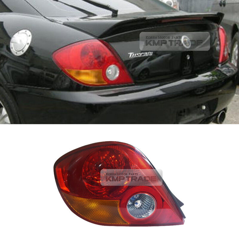 Details About Oem Genuine Parts Rear Tail Light Lamp Lh Y For Hyundai 02 04 Tiburon Tuscani