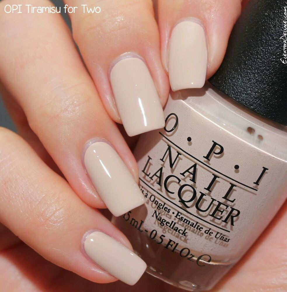 OPI Fall Venice collection nail polish lacquer in tiramisu for two ...
