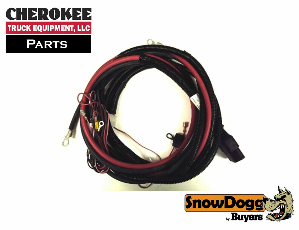 snowdogg/buyers products 16160300, truck side control ... snowdogg wiring harness #7