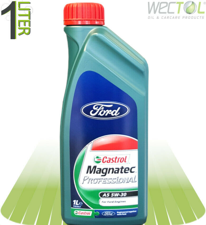 1 x 1 liter castrol magnatec professional ford a5 5w 30. Black Bedroom Furniture Sets. Home Design Ideas