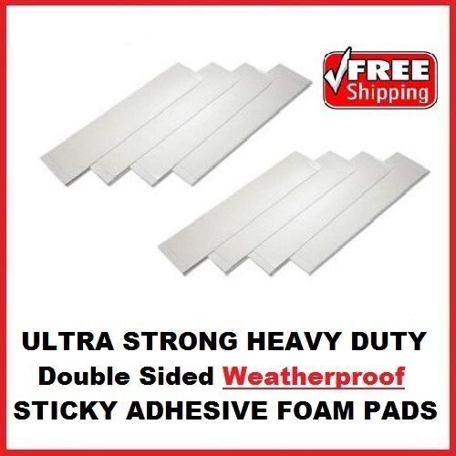 8x Heavy Duty Double Sided Foam Adhesive Sticky Fixing