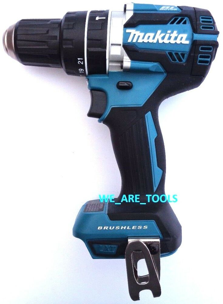 new makita brushless 18v xph12 lxt cordless 1 2 hammer drill 18 volt li ion ebay. Black Bedroom Furniture Sets. Home Design Ideas