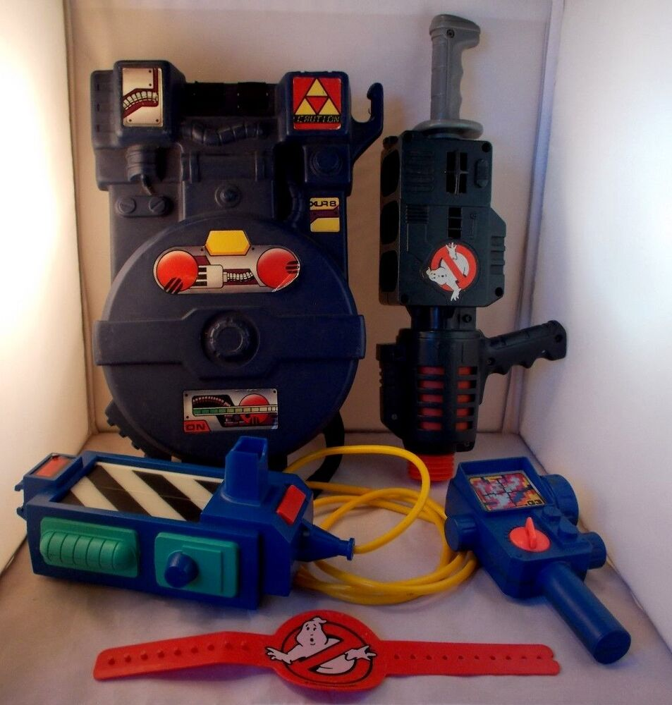 1984 Kenner The Real Ghostbusters Proton Pack Amp Proton Popper Pke Meter Trap Lot Ebay