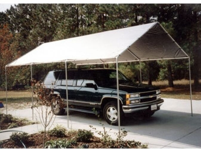 Shelter King Car Covers : Outdoor canopy cover carport garage gazebo car truck boat