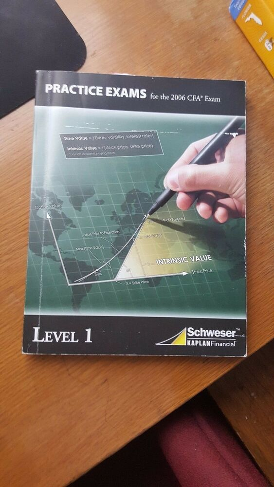 schweser cfa level 1 practice exams free download