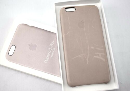 APPLE  Leather Case for Apple iPhone 6/6s Plus- MKXE2ZM/A ROSEGRAY - SJ1511