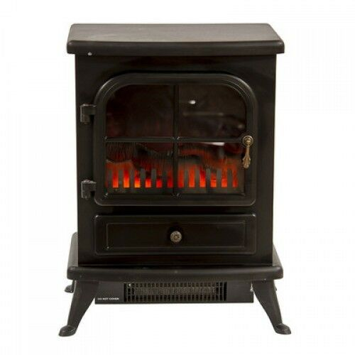 electric stove fireplace vintage heater cast iron fire. Black Bedroom Furniture Sets. Home Design Ideas