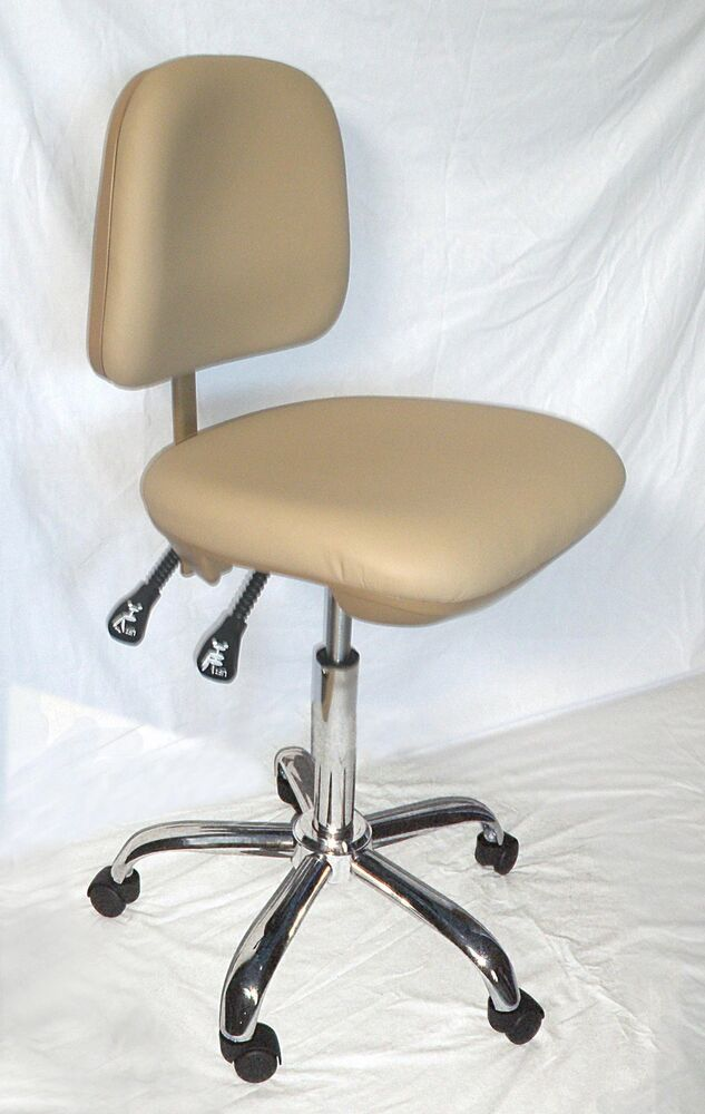 medical office dental doctor 39 s stool chair tan ebay