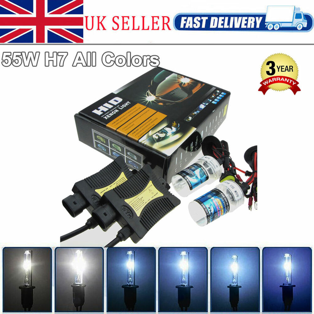 canbus 55w h7 hid xenon conversion kit 6000k 8000k lamps. Black Bedroom Furniture Sets. Home Design Ideas