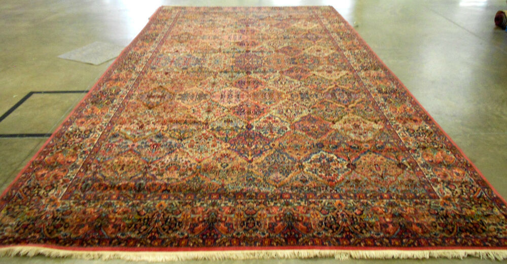 Karastan Palace Size Area Rug 717 Multi Panel Kirman 10 X