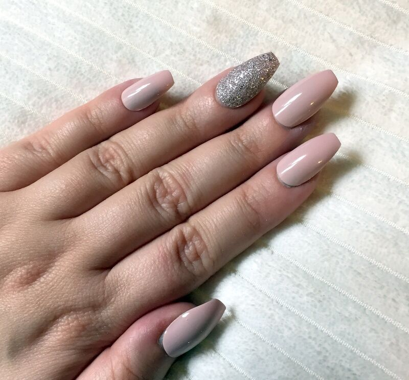 Hand Painted False Nails COFFIN (or ANY SHAPE) Gloss ...