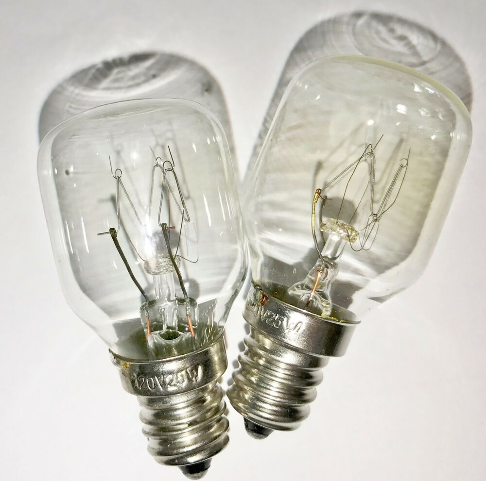 Salt Lamp Bulb Replacement : 2-pack Himalayan Salt Lamp Bulbs 25 Watt 120 volt 25W bulb 2-25W eBay