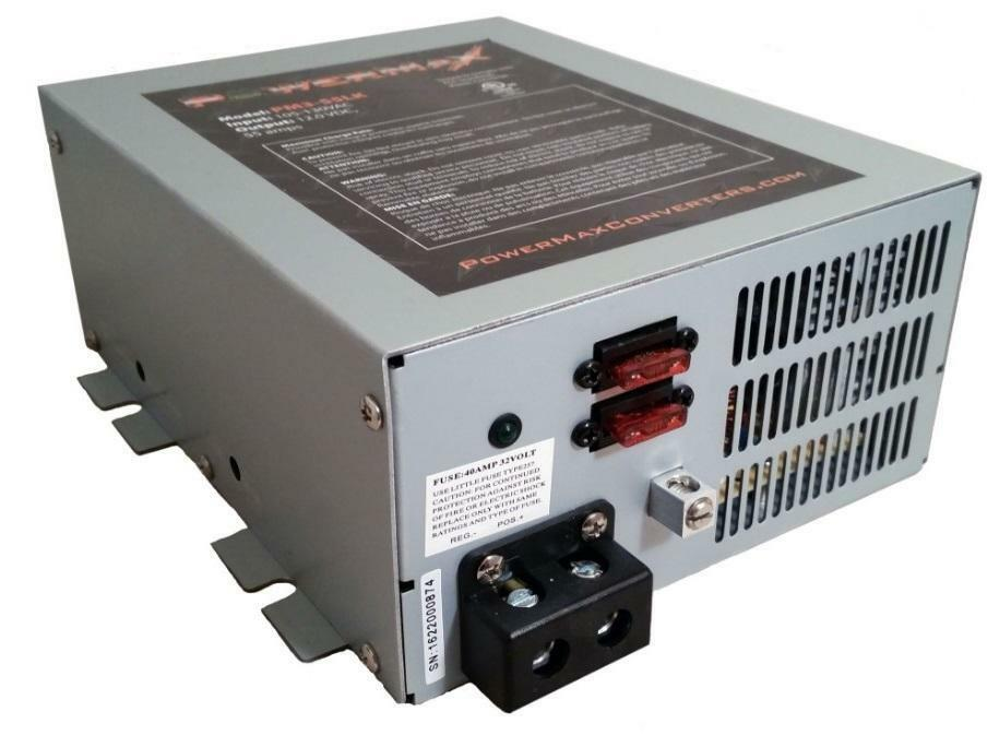 Powermax PM3100LK 100 Amp 12 Volt Power Supply with LED