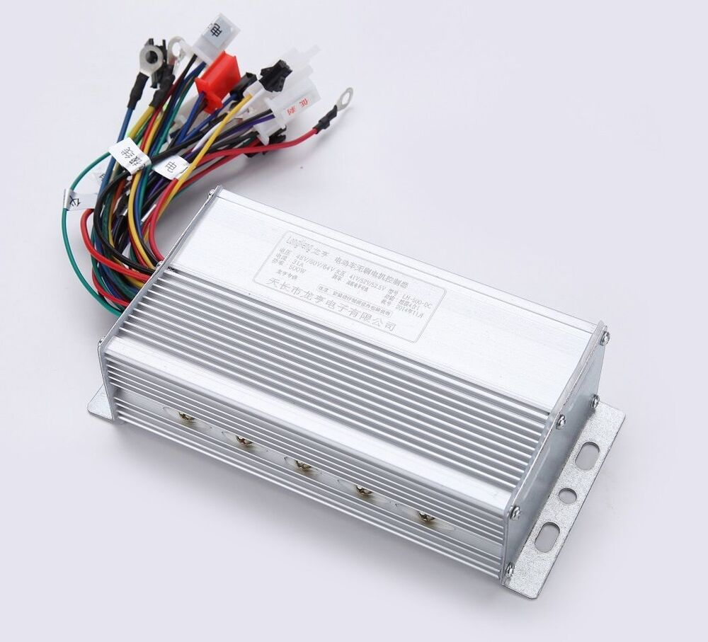 500w 48v motor brushless controller for electric bike for Electric motor control box