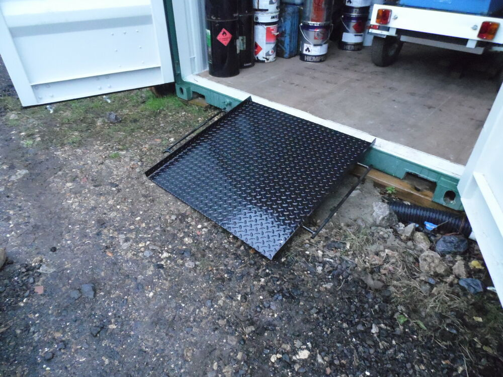 Shipping Container Door Ramp 8ft 10ft 20ft 40 Ft Ebay