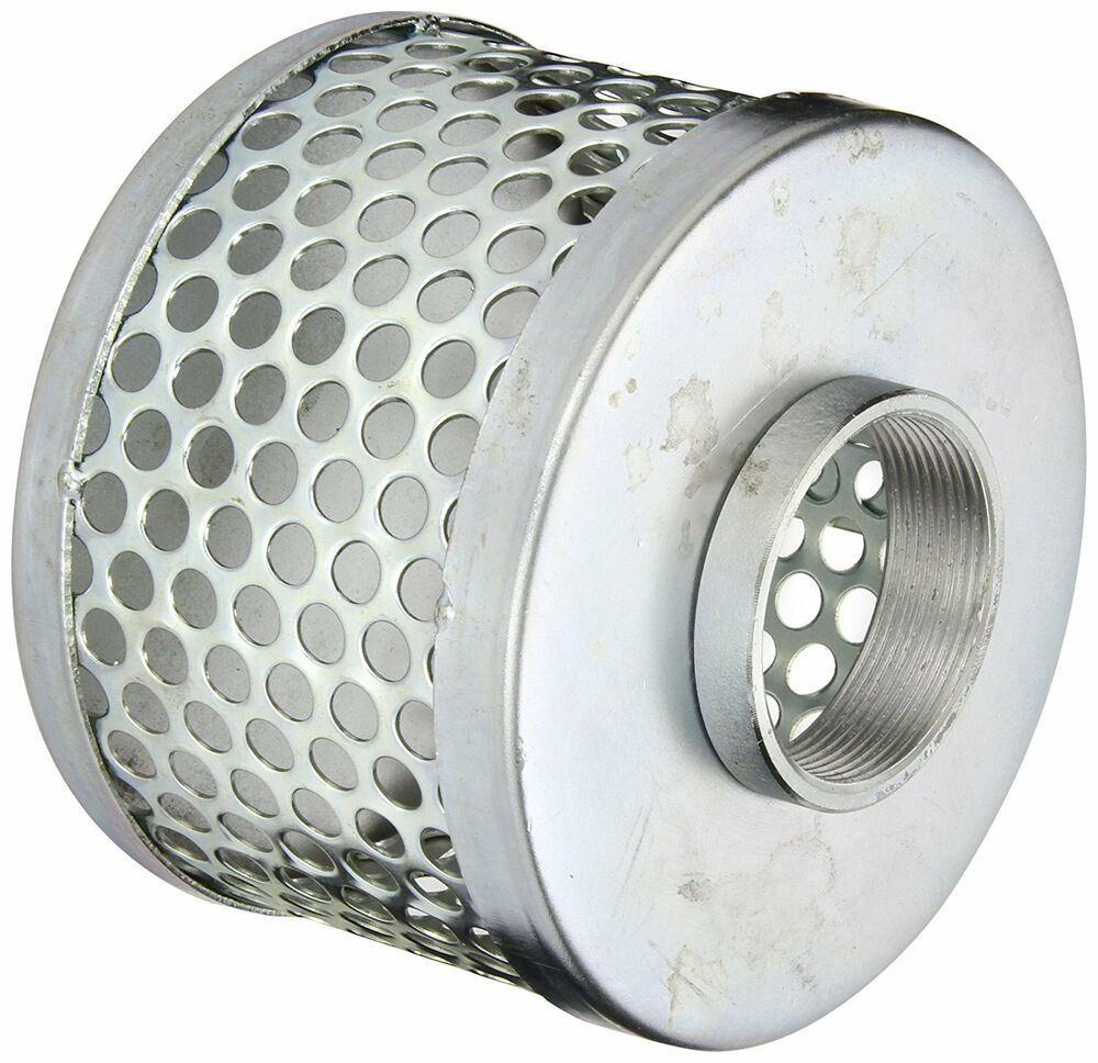 Steel Couplers With Witness Holes : Pt coupling carbon steel round hole pump suction strainer