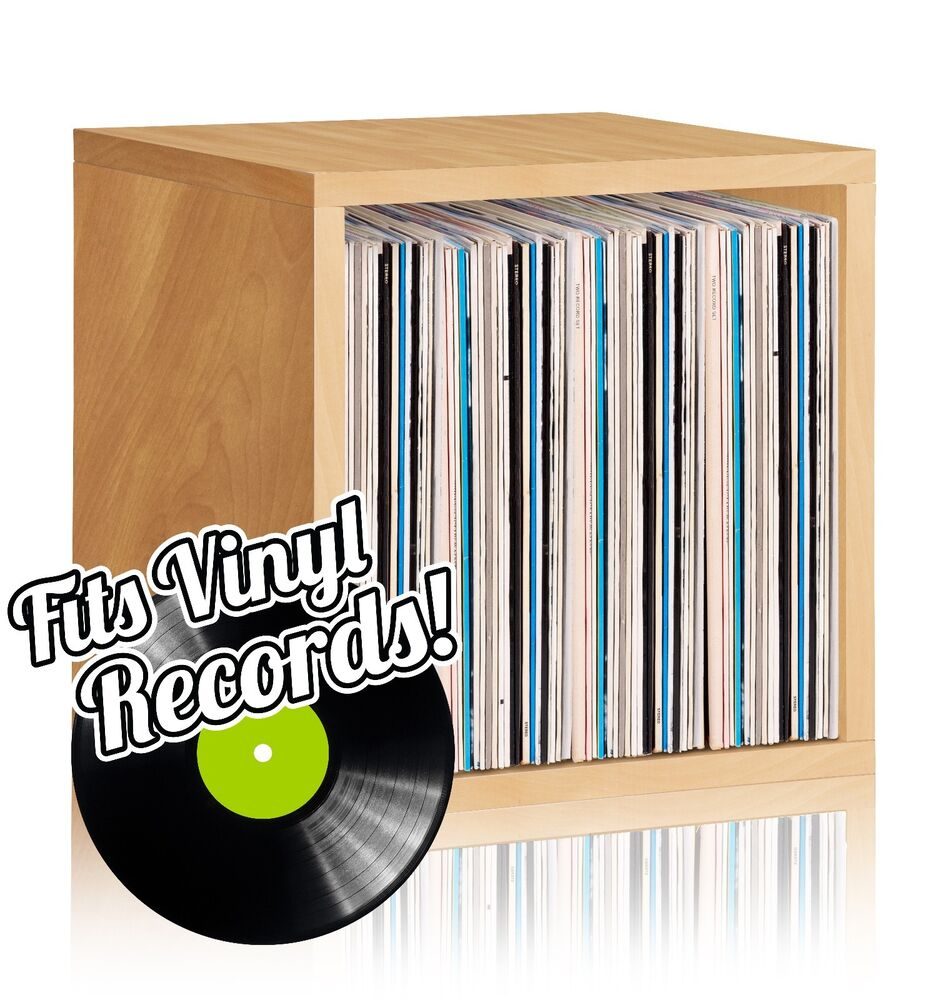 Vinyl Record Album Lp Album Storage Cube Stackable