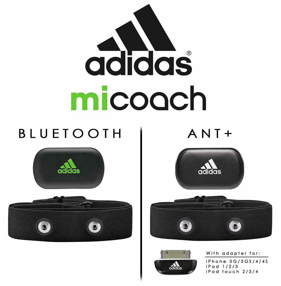 heart rate monitor iphone adidas micoach rate monitor bluetooth ant for 4014