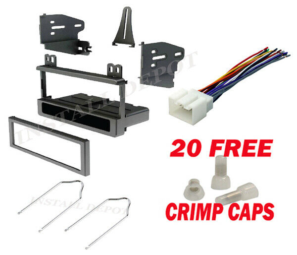 Ford Car Stereo Radio Dash Installation Mounting Kit With Wiring Harness  U0026 Tools