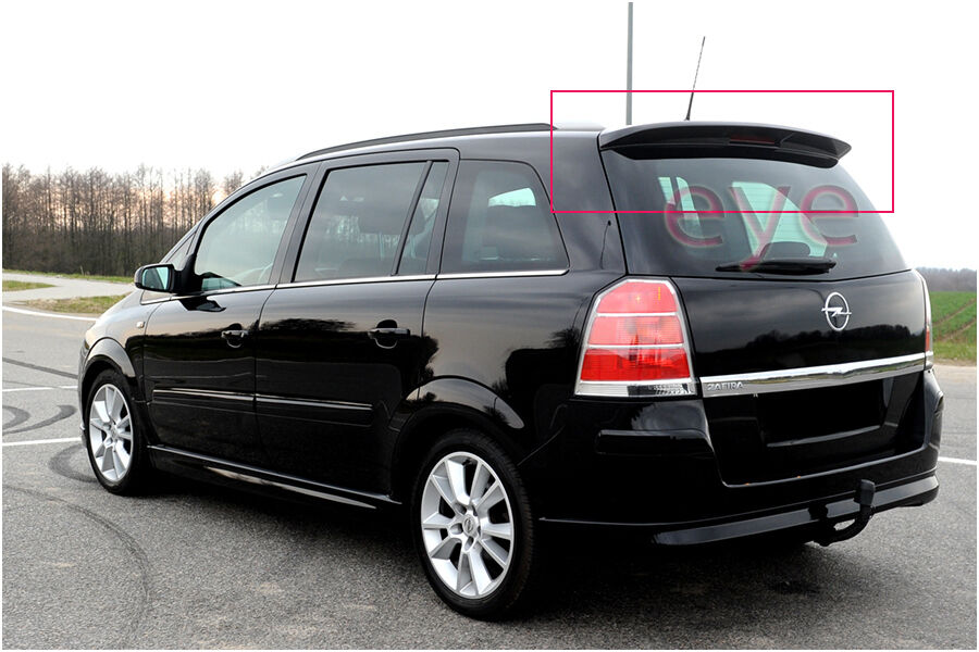 opel zafira b mk ii rear roof spoiler ebay. Black Bedroom Furniture Sets. Home Design Ideas