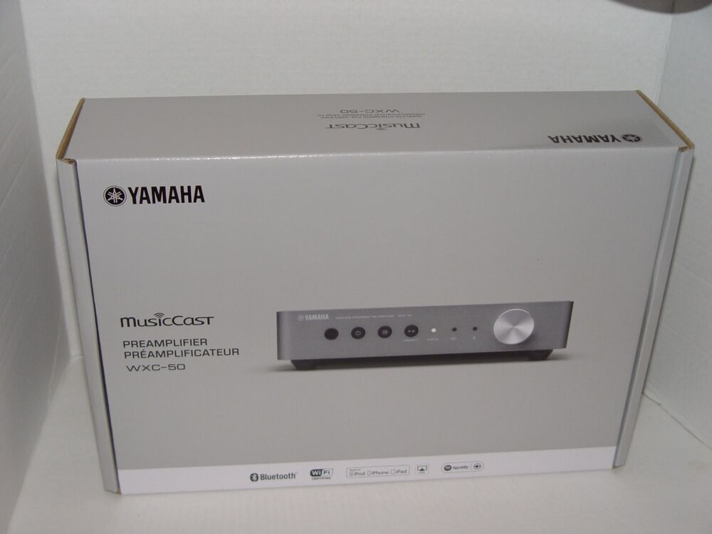 new yamaha wxc 50 musiccast wireless streaming pre. Black Bedroom Furniture Sets. Home Design Ideas